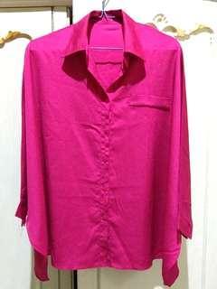 Blus shocking pink