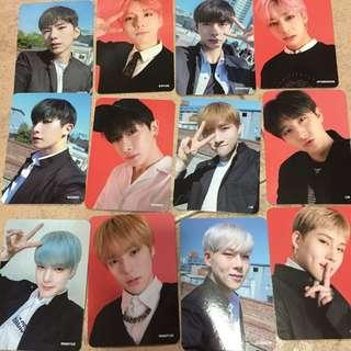 Monsta X The Connect World Tour Photocards