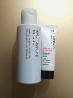 Shu Uemura Tsuya skin lotion & protective primer