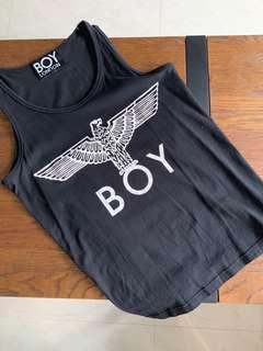 Boy London Black Tank Top