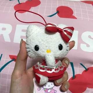 Hello Kitty authentic SANRIO plush keychain