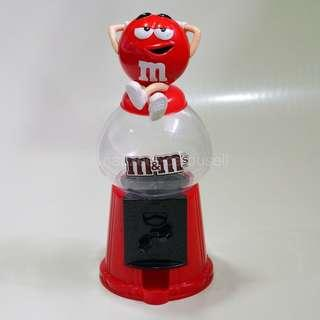 M&M'S Candy Dispenser - Red Relax