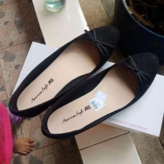 Elise Flat Shoes Black