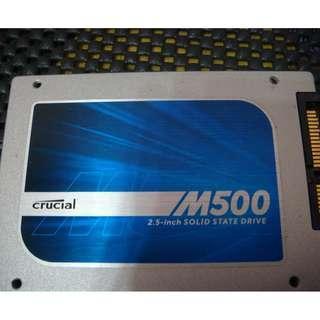美光 Crucial M500 120GB 2.5吋 SSD固態硬碟