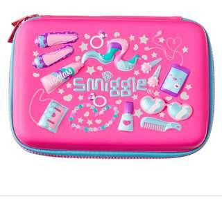Smiggle Pencil Case pink Rm58 New