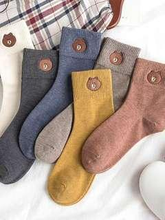 Assorted fleece socks