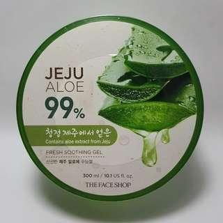 New- the Face Shop Jeju Aloe vera 99% Soothing Gel