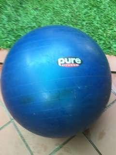 Pure Fitness Stability Ball/Medicine Ball