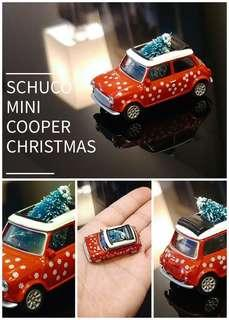 全新 Schuco 1:64 Mini Cooper Christmas Hong Kong Limited 聖誕樹 聖誕禮物 Tiny Xmas Gift