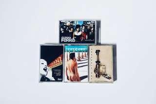 Kaset Pita Save Ferris, Foo Fighters, Psycore, Franz Ferdinand