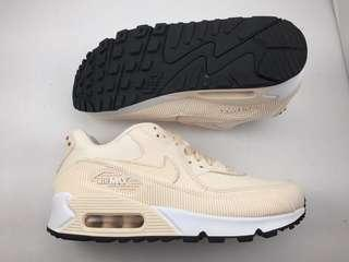 Brand new Nike Air max 90 Lea Blush pink/ rose gold women size 7.5