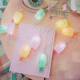 Ice Cream LED Fairy Lights