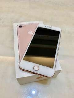 I Phone 7 粉紅 128G
