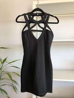 BRAND NEW Black Bodycon Party Dress