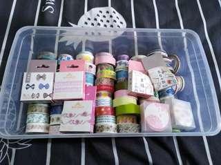 Washi tape & stickers grab bag 🍒