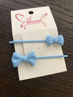 BN elitrend baby blue hair clip fashion accessory