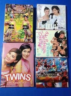 Twins Karaoke VCD 全5套