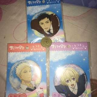 Sanrio Danshi big pin set
