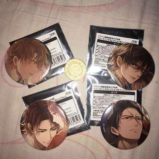 Ikemen Sengoku Pins
