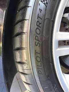 Michelin Pilot Sport 4 - PS4