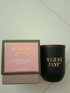 August IXVI Soy Candle