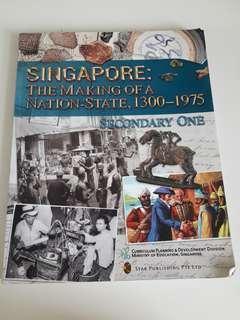 Sec1 History Textbook