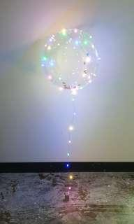 Balloon with Lights and Helium