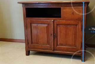 SCANTEAK cabinet. 90x55x75cm. Call 91822516