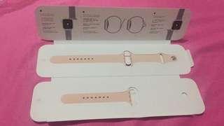Sport band strap apple watch series 4 sand pink ORIGINAL
