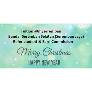 Tuition @myseremban 2019 (Refer Students & Earn Commission)