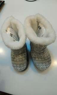 H&M 小雪靴-可換物