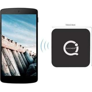Black Wireless Charging Pad