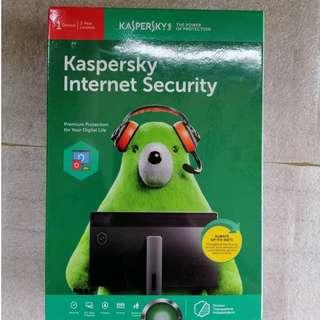 Kaspersky 2 years internet security anti virus