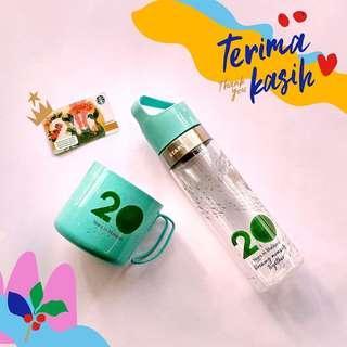 🆕Starbucks® 🇲🇾 20oz Siren Water Bottle