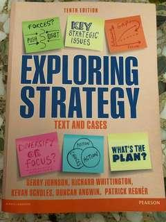 Exploring Strategy tenth edition (Text and Cases) - Pearson