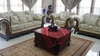 A set of 3+2+1 sofa for sell