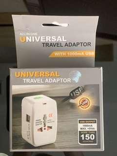 Travel- Universal Travel Adaptor with 2 USB ports