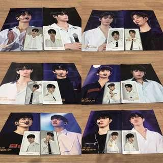 Ready Stock Wanna One World Tour Member PC Set