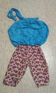 Blue top & Leggings