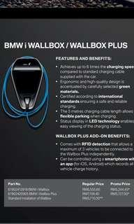 BMW i WALLBOX.  More compact, more efficient and more convenient. Charge your BMW safely, quickly and independently with the BMW i Wallbox in the comforts of your home.