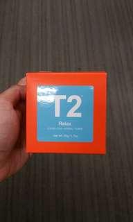 T2 relax loose leaf herbal tusane