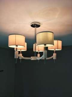 Celling Light in Korean Style Fabric Shade