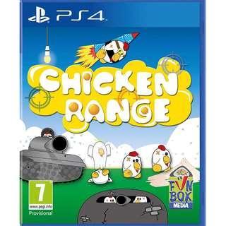 PS4 CHICKEN RANGE (R2 EUR)