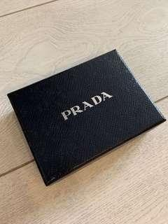 Authentic Prada Cardholder box