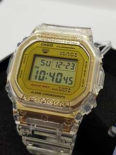 *ORIGINAL* Casio G-Shock 35th ANNIVERSARY LIMITED EDITION DW5035E-7 (Glacier Gold)