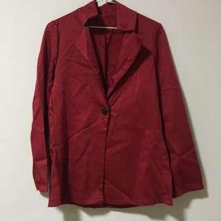 🚚 Red blazer