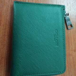 Coach Wallet (card and small notes)