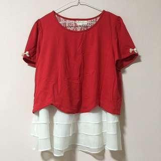 🚚 Red Blouse
