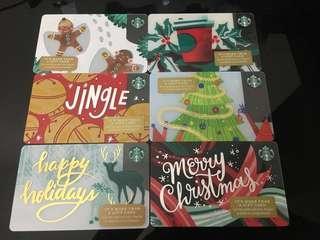 Starbucks US Christmas cards 2018