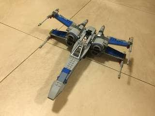 75149 Resistance x wing fighter